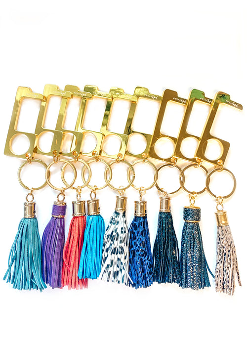 Ew Germs Key Chain l Gold
