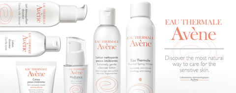Avène Skincare products askderm