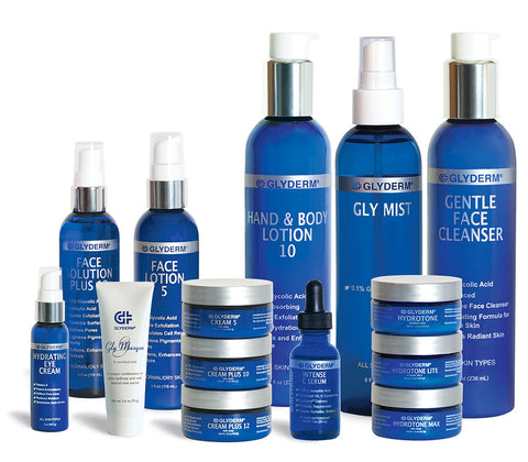 glyderm products