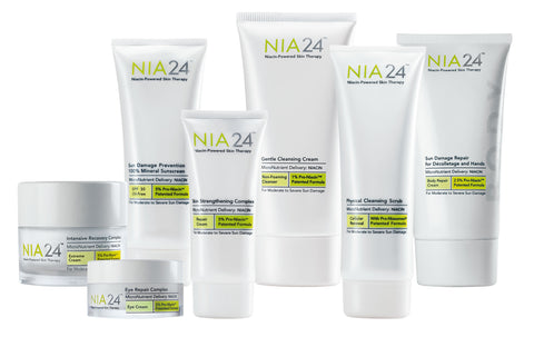 NIA24 skincare products - askderm