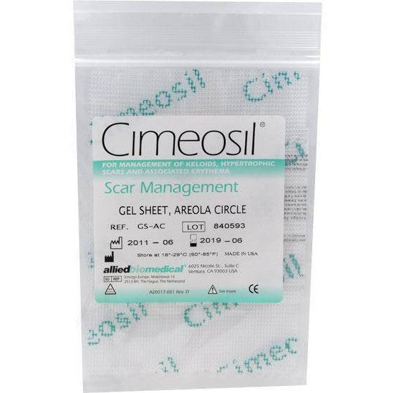 Cimeosil Gel Sheet - Areola Circle - askderm
