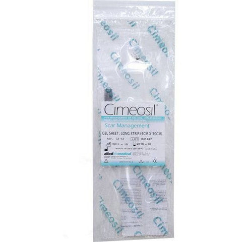 Cimeosil Gel Sheet - Long Strip - 4 cm x 30 cm - askderm