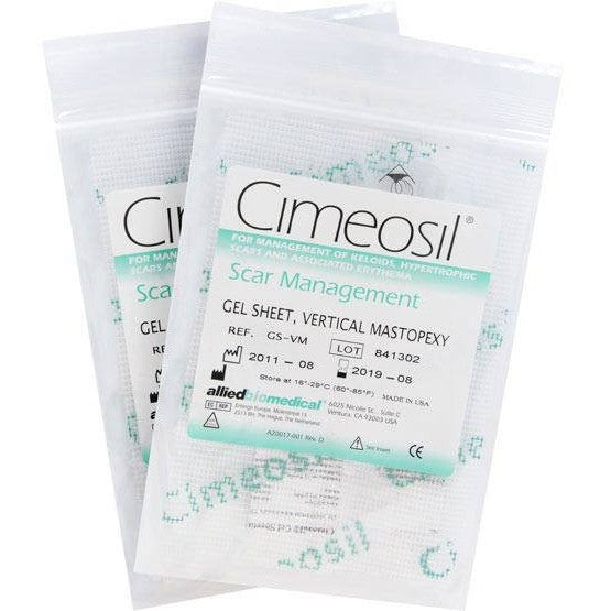 Cimeosil Gel Sheet - Vertical Mastopexy - 2 Sheets