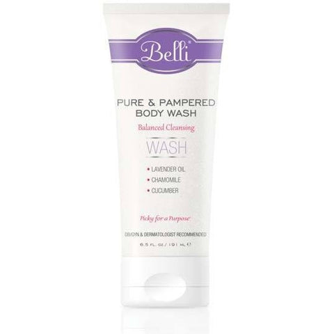 Belli Pure & Pampered Body Wash - askderm