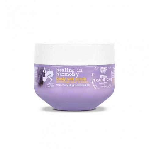 Treets Traditions Healing in Harmony Body Salt Scrub - askderm