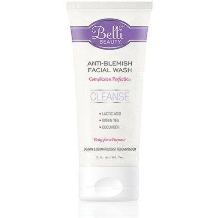 Belli Anti-Blemish Facial Wash - 3 fl oz - askderm