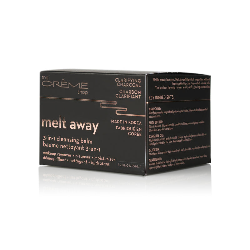 The Crème Shop Melt Away 3-in-1 Cleansing Balm - askderm