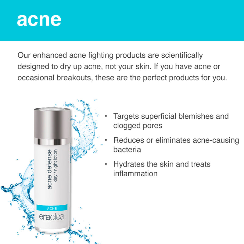 eraclea acne defense day/night lotion - askderm