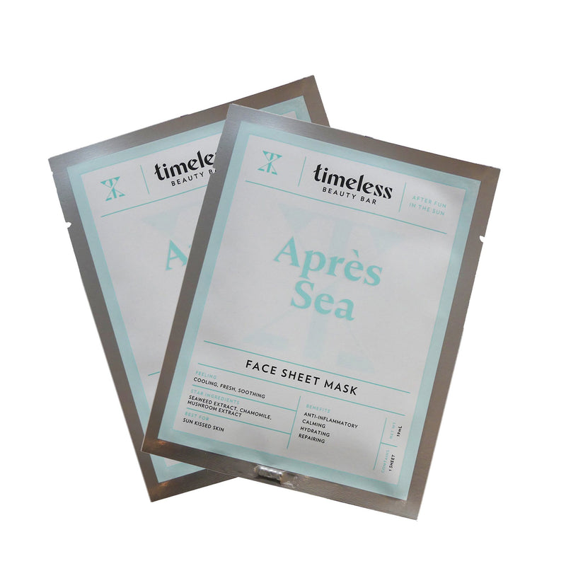 Timeless Beauty Bar Aprés Sea - Sheet Mask - askderm