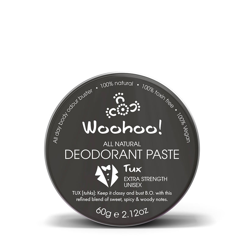 Woohoo! Body All Natural Deodorant Paste 2.1 oz Full Size Tin - askderm