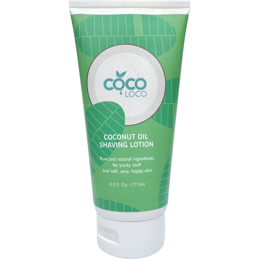 Coco Loco Coconut Oil Shaving Lotion - askderm