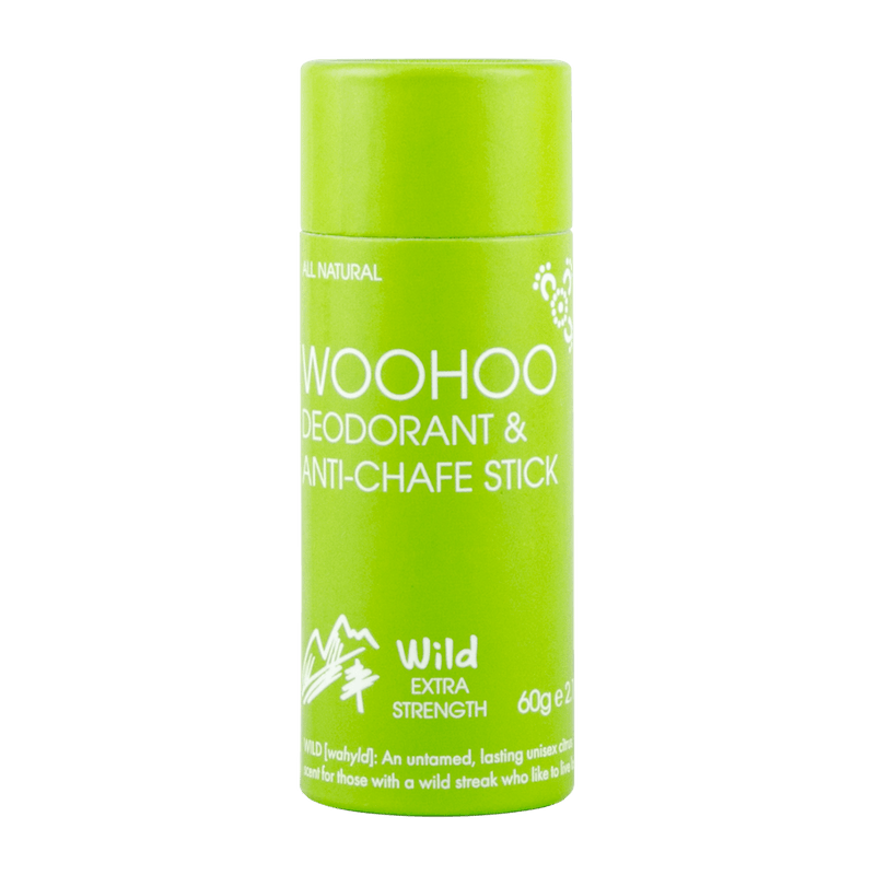 Woohoo! Body All Natural Deodorant Anti-Chafe Stick 2.1 oz - askderm