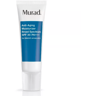 Murad Anti-Aging Moisturizer SPF 30 | PA++ for Blemish-Prone Skin - askderm