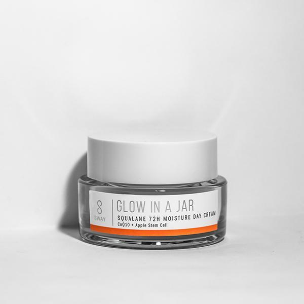 SWAY Glow in a Jar Squalane 72h Moisture Day Cream - askderm
