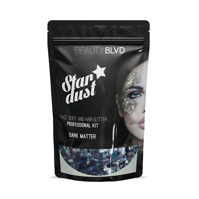 BeautyBLVD Stardust - Face, Body & Hair Glitter Pro Bag - askderm