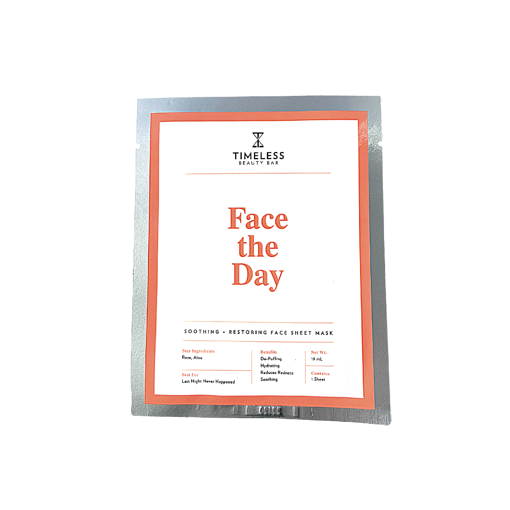 Timeless Beauty Bar Face the Day - Soothing Sheet Mask - askderm