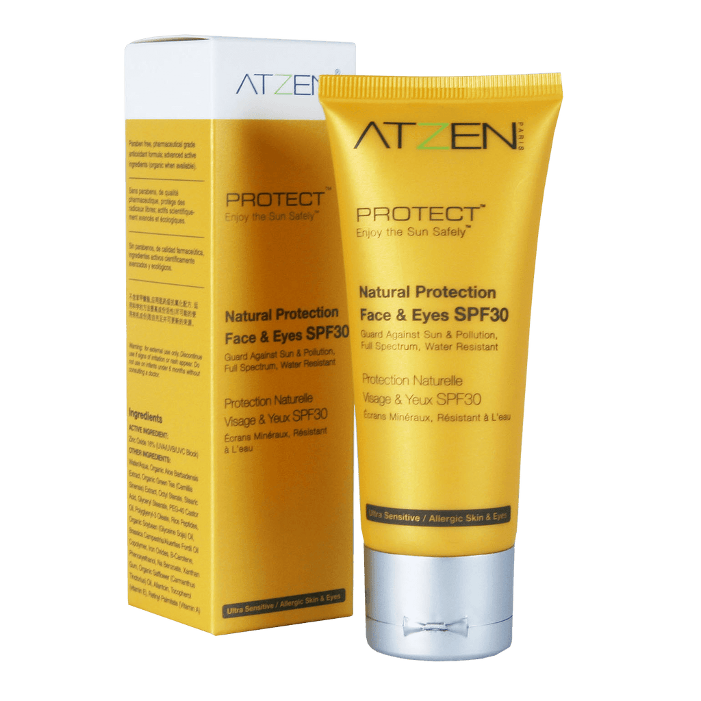 ATZEN Natural Face Protection SPF 30 - askderm