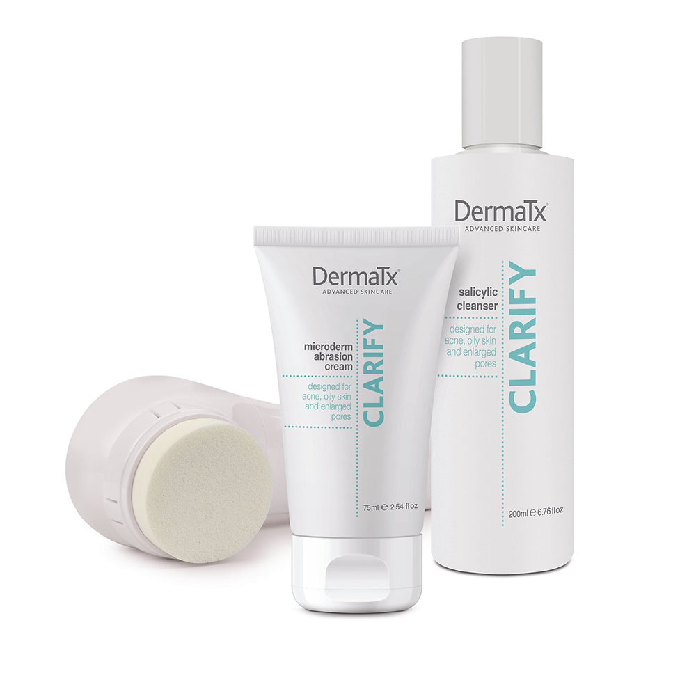 DermaTx Clarify Microdermabrasion & Daily Cleansing - askderm