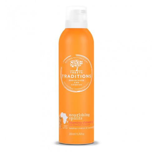 Treets Traditions Nourishing Spirits Foaming Shower Gel - askderm