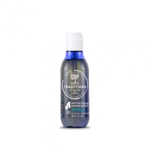 Treets Traditions Revitalising Ceremonies Massage Oil - askderm