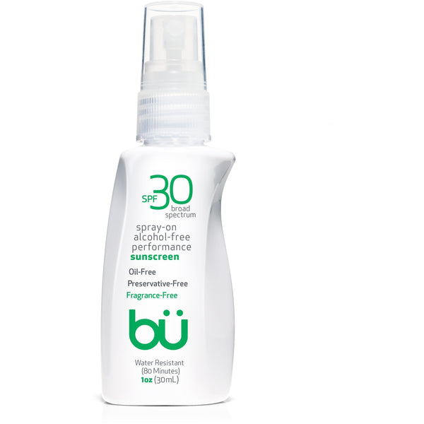 bu SPF 30 Alcohol-Free/Fragrance-Free Spray - askderm