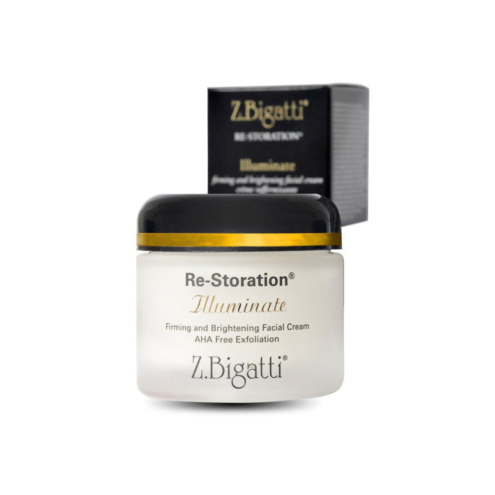 Z. Bigatti Re-Storation Illuminate - Firming and Brightening Facial Cream - askderm