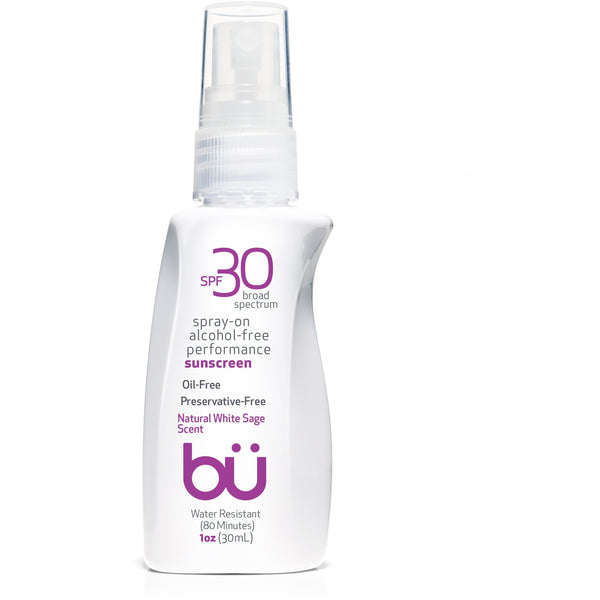 bu SPF 30 Alcohol-Free/White Sage Scent Spray - askderm
