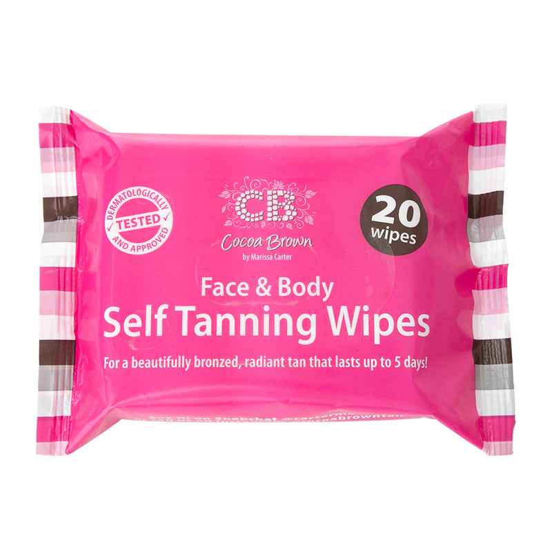 Cocoa Brown Self Tanning Wipes - askderm