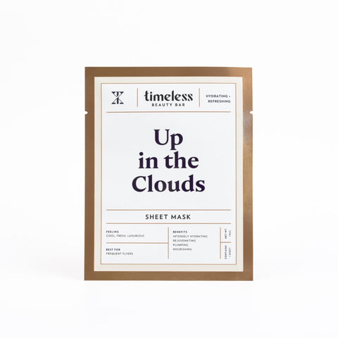 Timeless Beauty Bar Up in the Clouds - Hydrating Sheet Mask - askderm