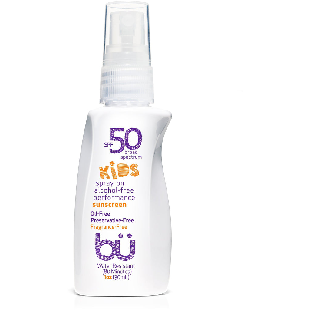 Bu SPF 50 Alcohol-Free KIDS Fragrance-Free Spray - askderm