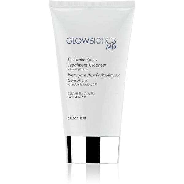 Glowbiotics Probiotic Acne Treatment Cleanser - askderm