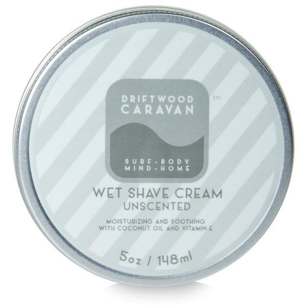 Driftwood Caravan Natural Wet Shave Cream - askderm