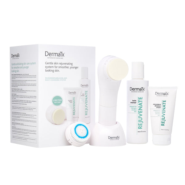 DermaTx Rejuvenate Microdermabrasion & Daily Cleansing - askderm