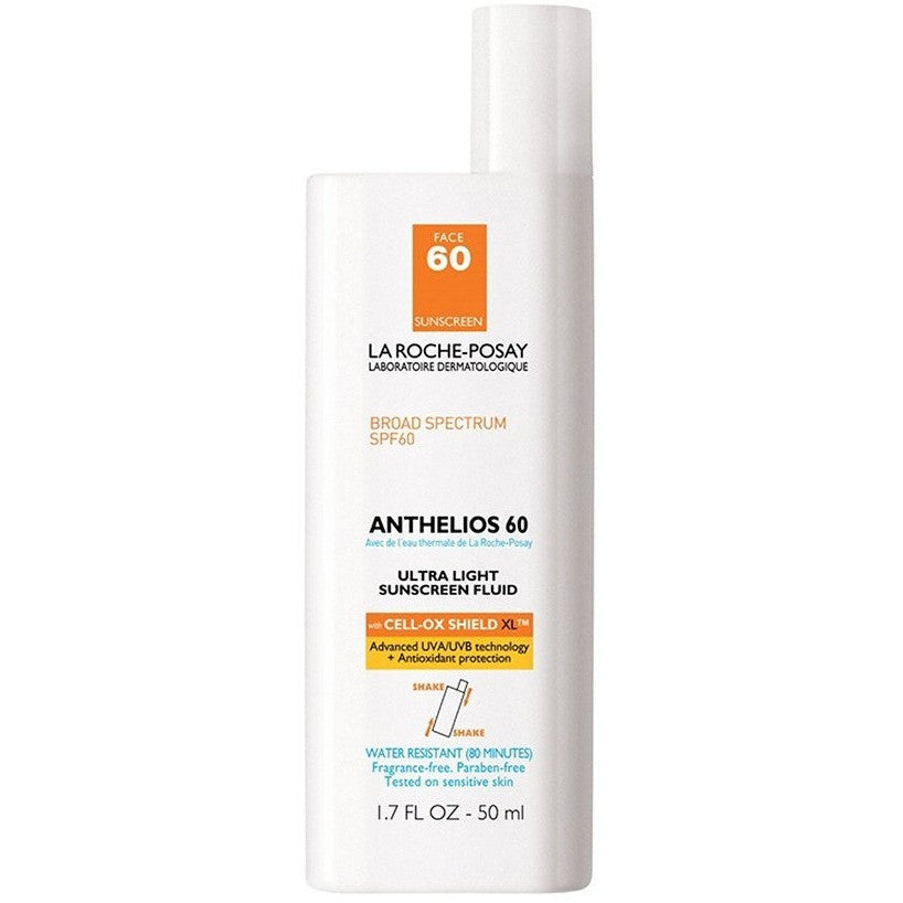 La Roche-Posay Anthelios 60 Ultra Light Sunscreen Fluid - askderm