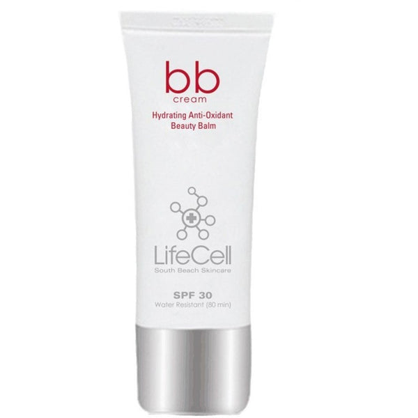LifeCell BB Cream Hydrating Anti-Oxidant Beauty Balm SPF 30 - Light - askderm