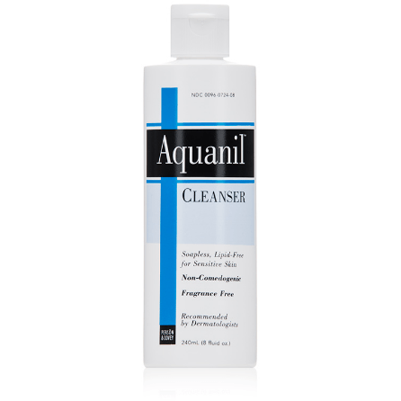Person Covey Aquanil Cleanser - askderm