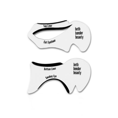 Beth Bender Beauty The Original Cat Eyeliner Stencil & Smokey Eye Makeup Stencil - askderm