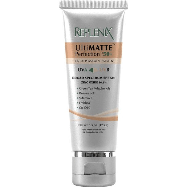 Replenix by Topix UltiMATTE Perfection SPF 50+ Tinted Physical Sunscreen - askderm