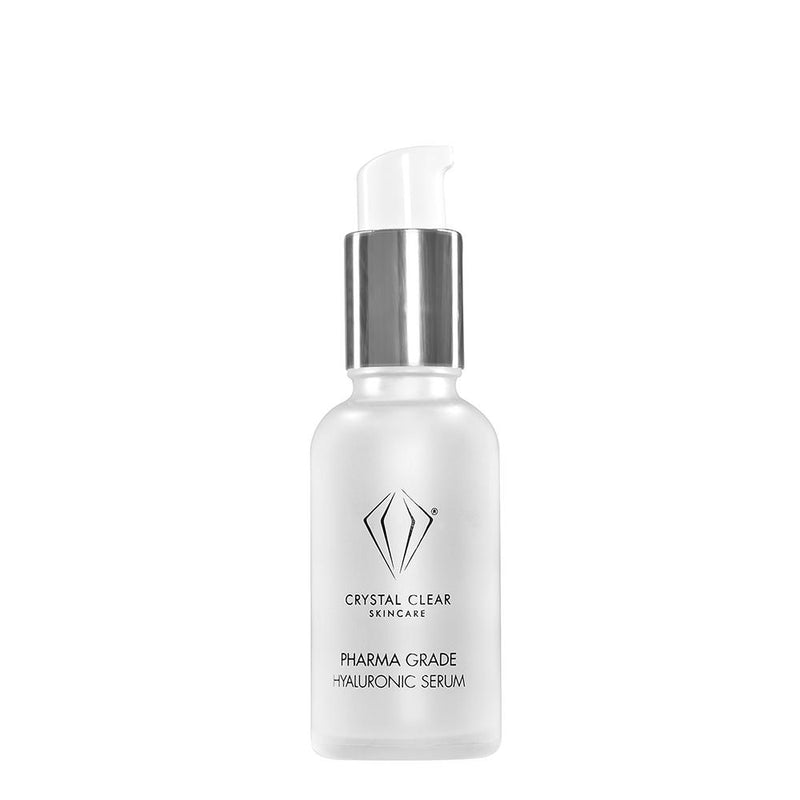 Crystal Clear Pharma Grade Hyaluronic Serum - askderm