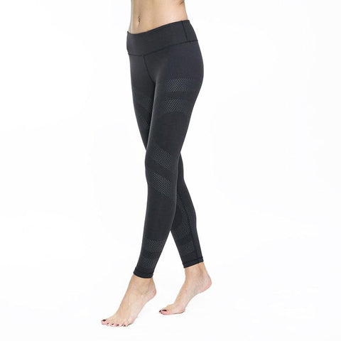 """Pimp your Style"" - Raffinierte Push Up Leggings SCHWARZ"