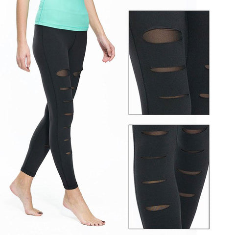 Rip it with style - dark colored leggings for a wild performance