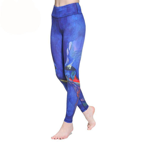 """Dancing In The Ocean"" - The beauty of leggings making you unique on the dance floor"