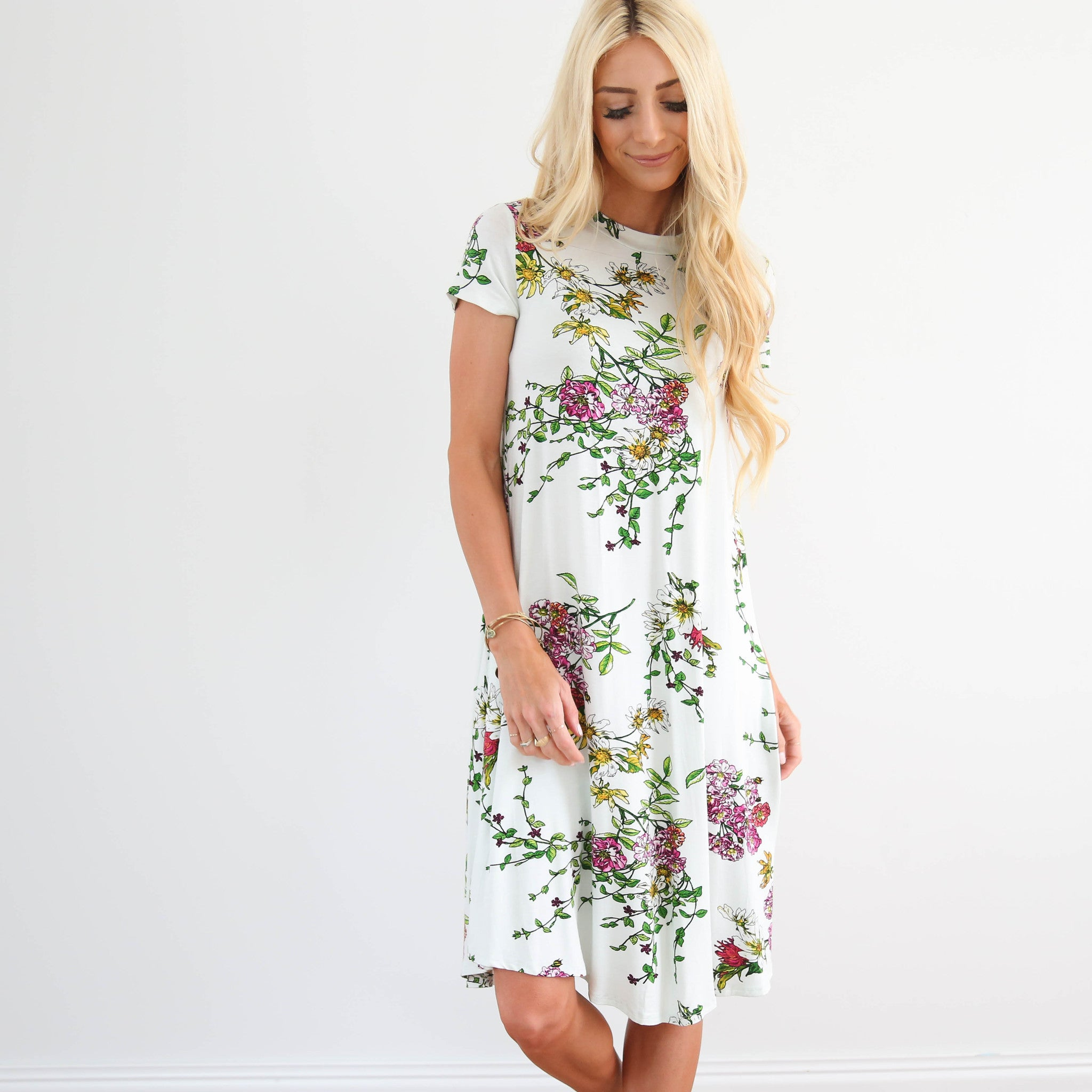 Sidella Printed Dress