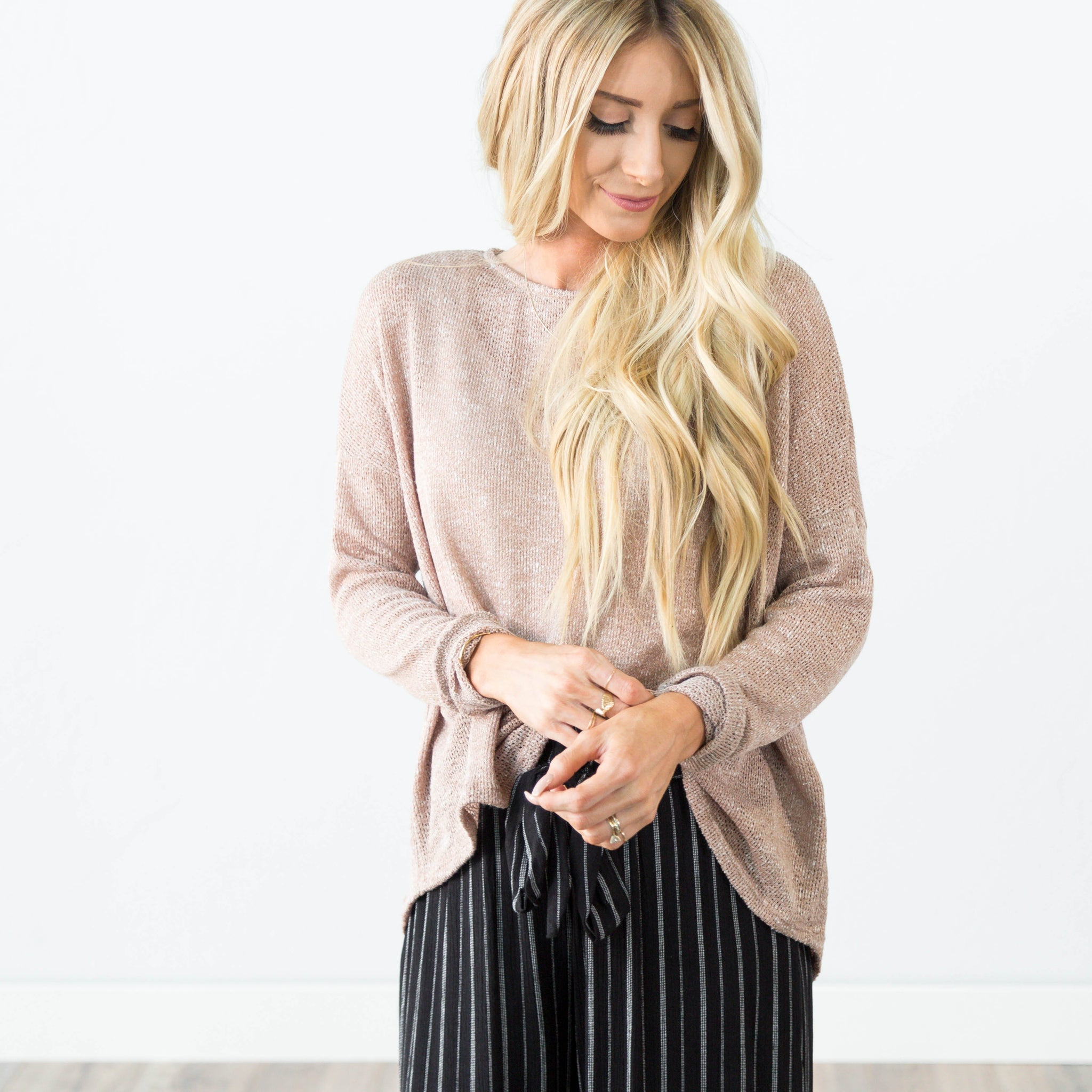 Liah Sweater in Mocha