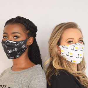 Face Mask with PM2.5 Carbon Filters