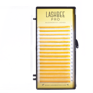 Mixed-Length Gold Lashes (Foil Back)