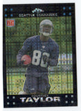 2007 Topps Chrome Courtney Taylor Xfractor Rookie Card Seattle Seahawks - JM Collectibles