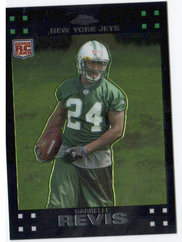 2007 Topps Chrome Darrelle Revis Rookie Card New York Jets - JM Collectibles