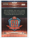 2015 Topps Chrome Lawrence Taylor 60th Anniversary New York Giants - JM Collectibles