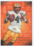 1995 Flair Brett Favre Hot Numbers Green Bay Packers - JM Collectibles